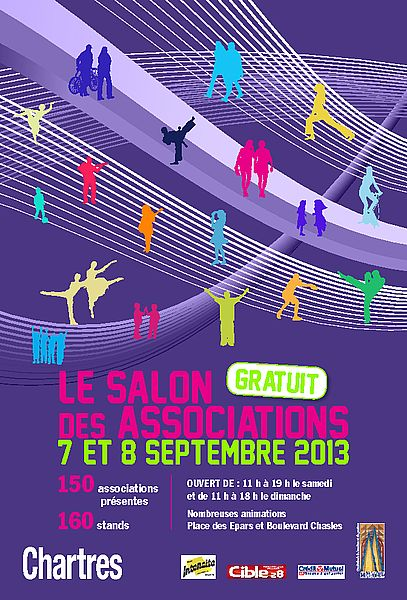 Salon des associations 2013 Chartres