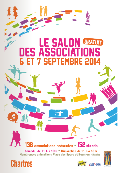 Salon des associations de Chartres 2014