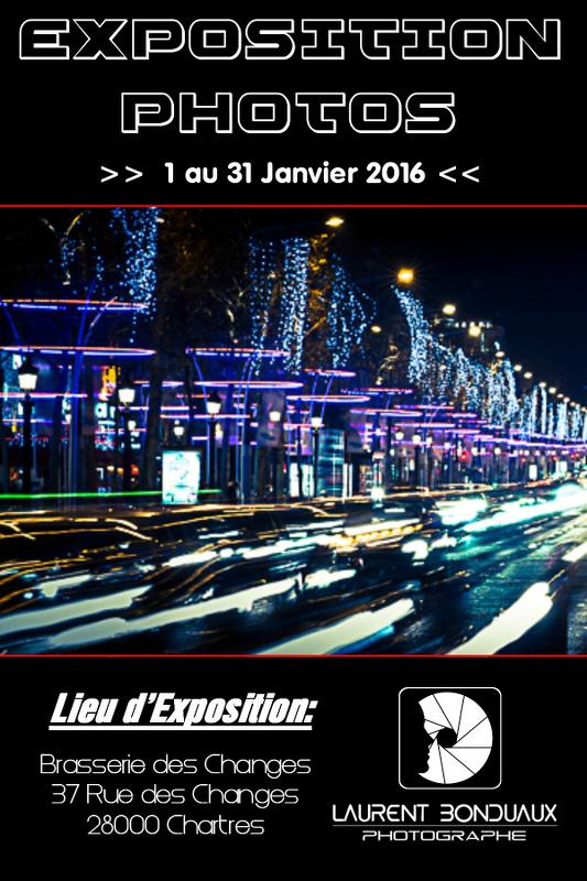 Laurent BONDUAUX expose à la Brasserie des Changes