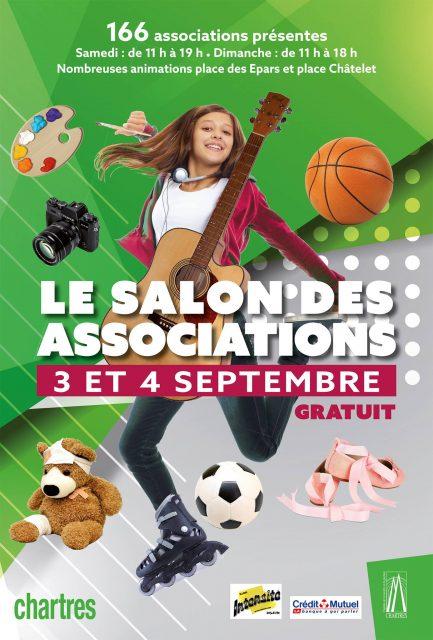Chartres Objectif présent au salon des associations de Chartres 2016