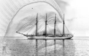 LEC'HVIEN Marc - Dans le port de Valparaiso