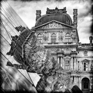 007 Béatrice Dumont - Le Louvre en kaléidoscope
