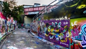 Marc  Lec'Hvien - Banksy Street