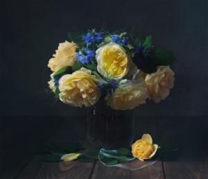 """168 """"Bouquet de roses""""  Ewa Kolecki"""