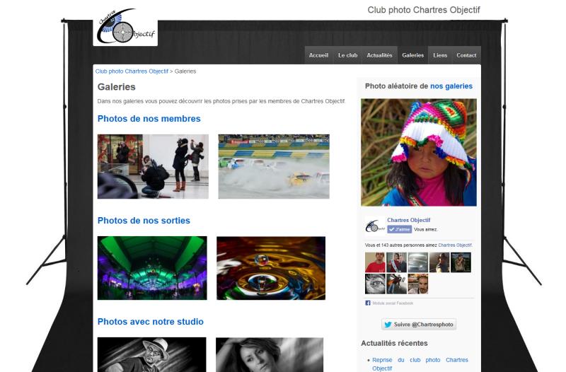 Nouvelle année pour Chartres Objectif avec un nouveau site internet