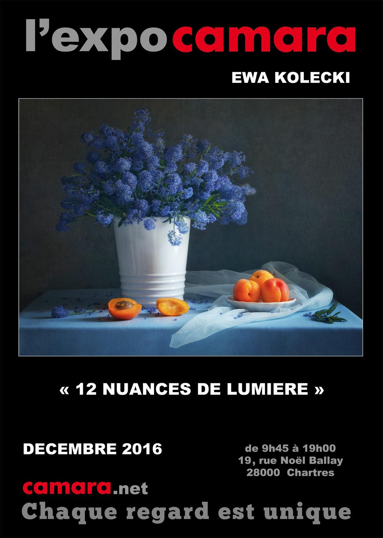 Ewa KOLECKI expose chez Camara