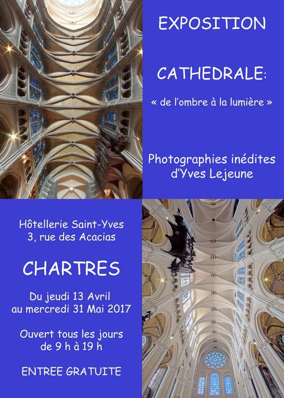 Yves LEJEUNE expose à l'Hôtellerie Saint Yves