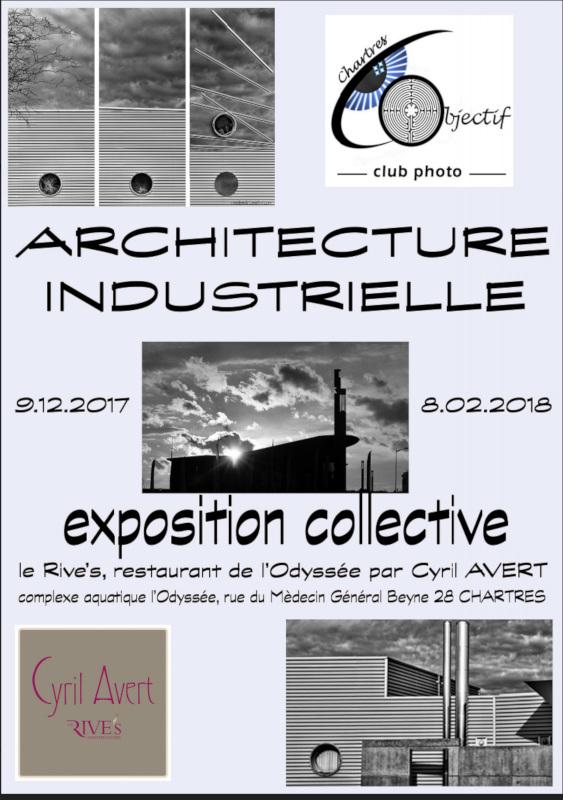 Exposition «Architecture de style industriel en noir et blanc» au Rive's