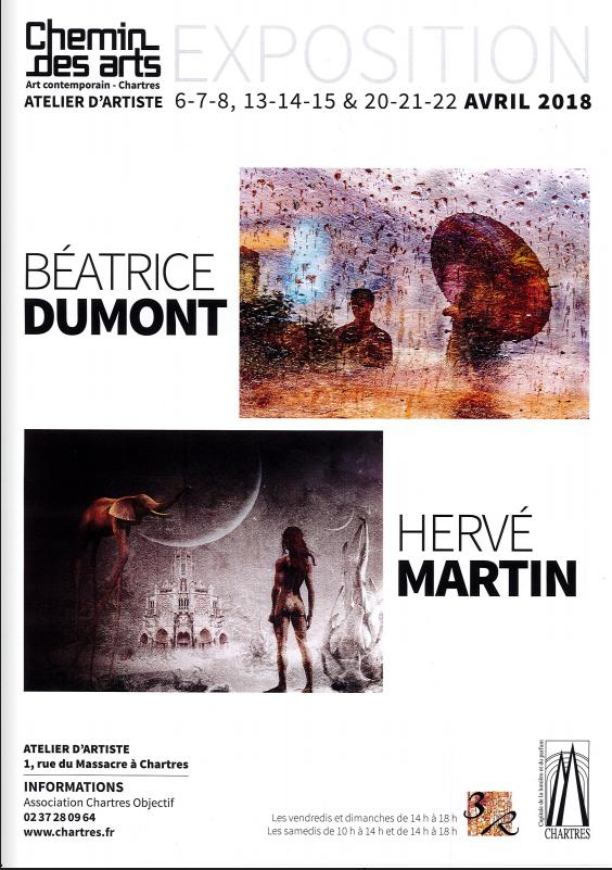Exposition de Béatrice DUMONT et de Hervé MARTIN