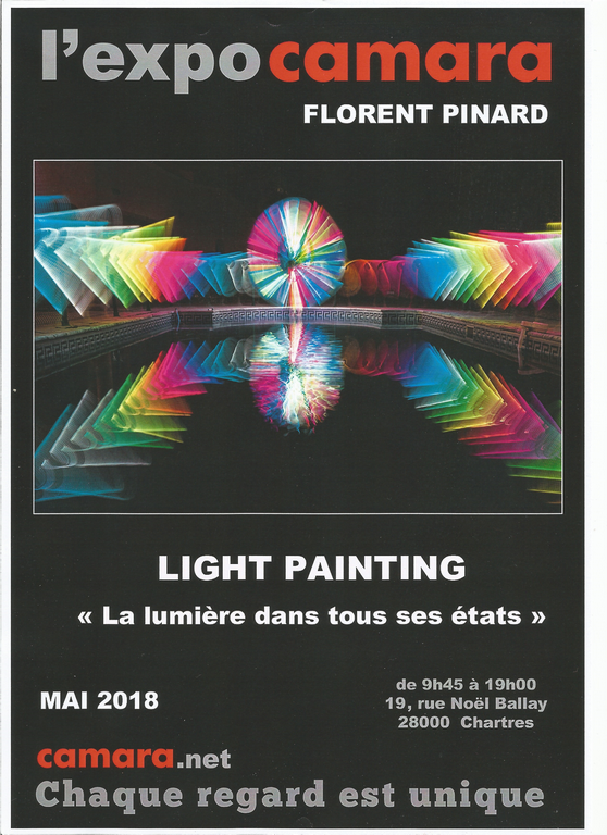Florent Pinard expose chez Camara