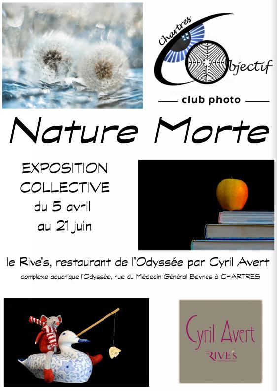 Exposition «Nature Morte» au Rive's