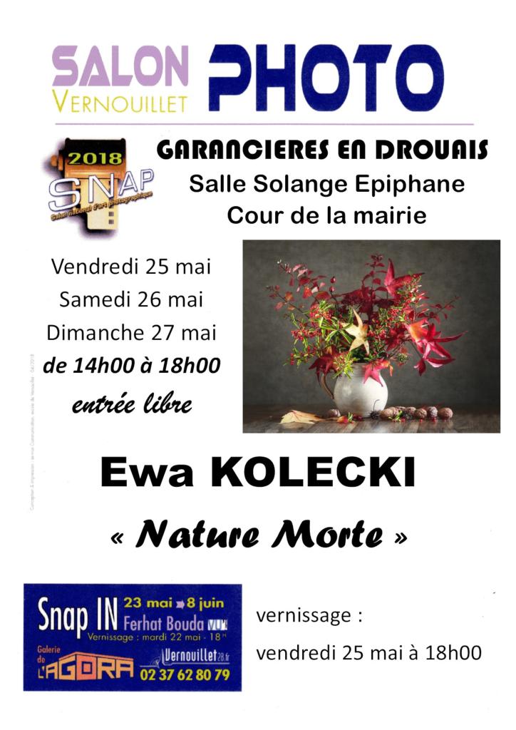 Ewa KOLECKI expose au SNAP de Vernouillet