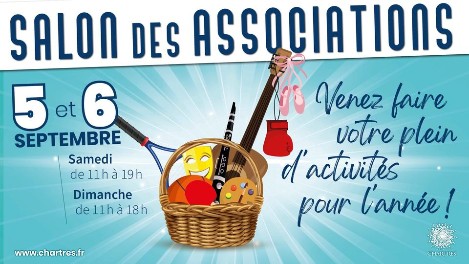 Chartres Objectif sera présent au salon des associations de Chartres 2020