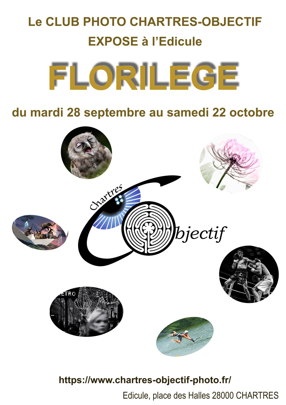 Exposition «Florilège»  à l'Édicule